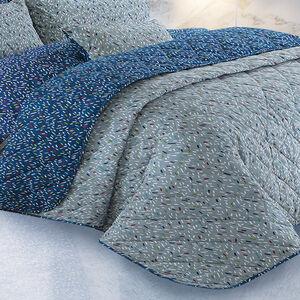 Sprinkles Teal Bedspread 200cm x 220cm