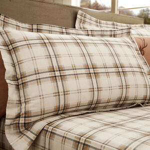 Cotton Natural Stag Oxford Pillowcases