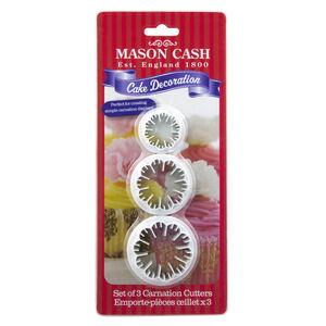 Mason Cash 3pk Carnation Plunger Cutters