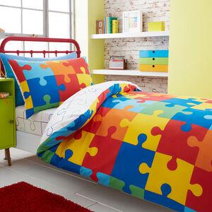 Jigsaw Bedspread 200x220cm