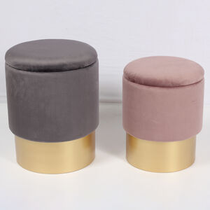 Karla Two Tone Stools Set of Two