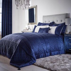 Classic Velvet Navy Bedspread