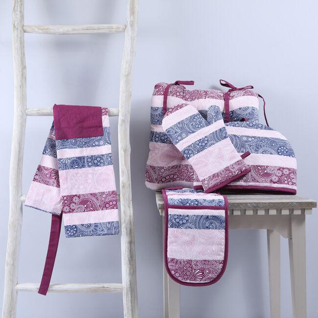 Paisley Stripe Tablecloth 140x180cm