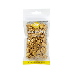 Wilton Sprinkles Crowns - Gold