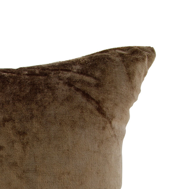 Velvet Crush Cushion Cover 2 Pack 45x45cm - Gold