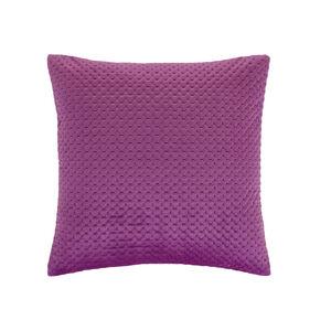 Velour Stitch Cerise 45x45 Cushion