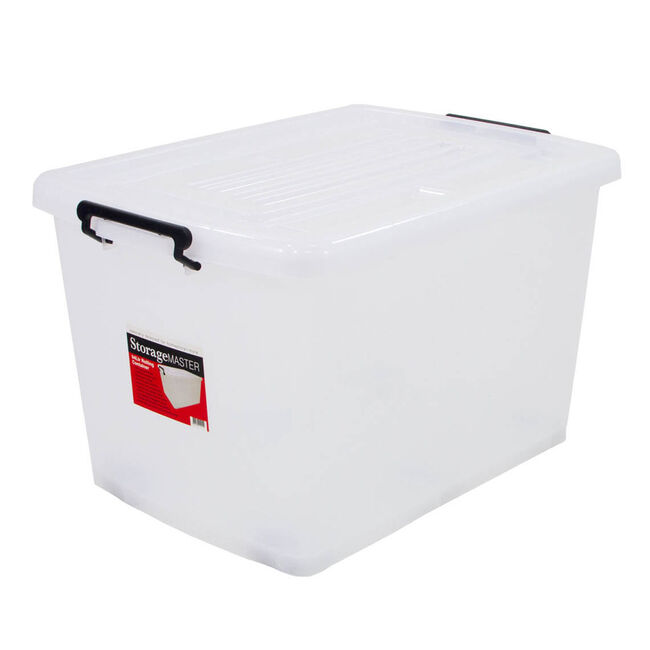 Rolling Storage Container with Lid 94L