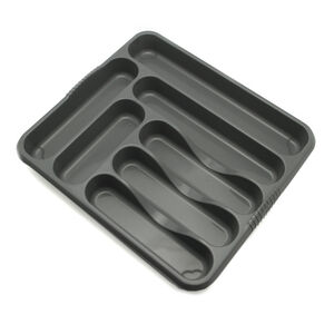Large Cutlery Tray Grey