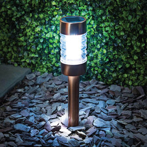 Copper Finish Solar Stake Light