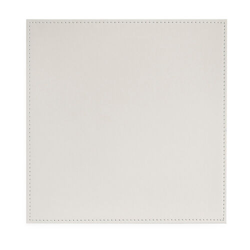 Reversible Square Placemats - Duck Egg & Cream