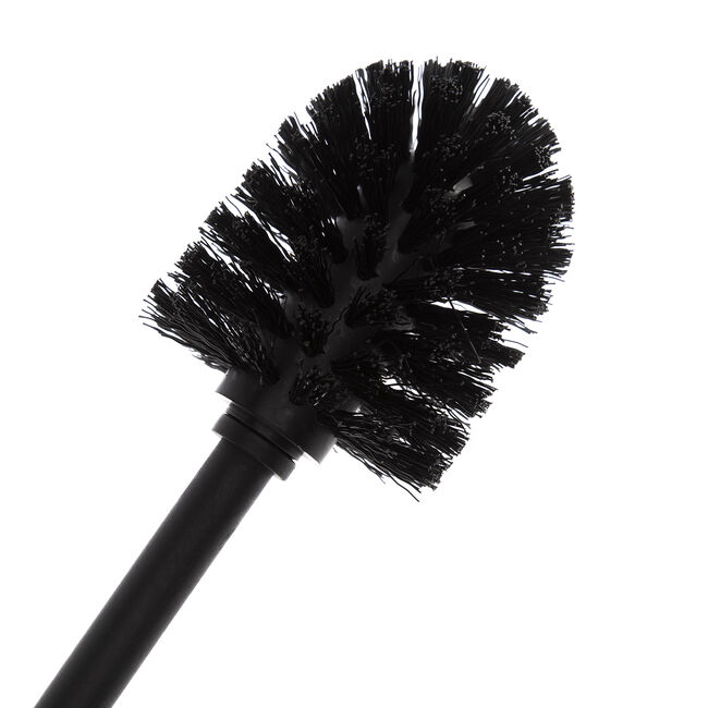 Spiral Embossed Toilet Brush - Charcoal