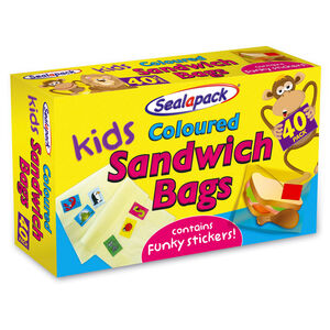 Sealapack Coloured Kids Sandwich Bags