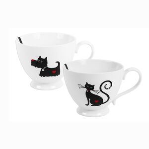 Cat And Dog Design Mug