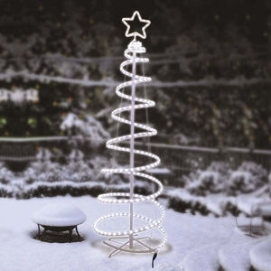 Spiral Christmas Tree Rope Light