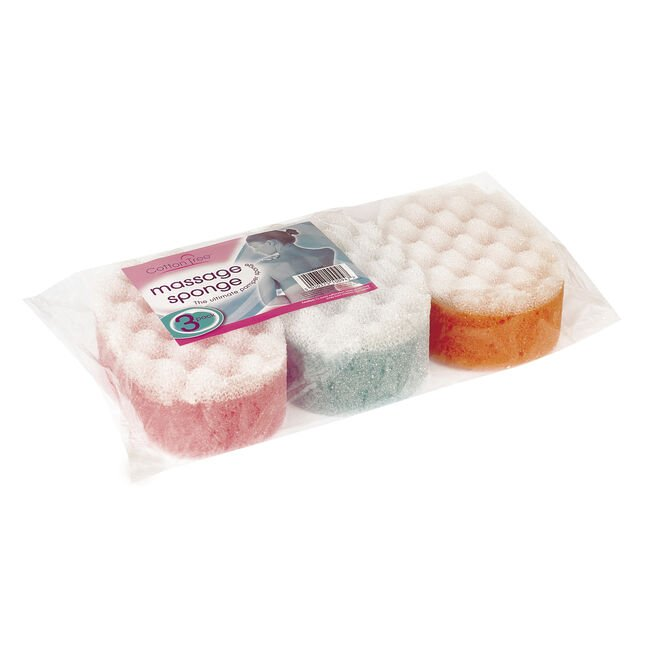 Massage Sponge 3Pk