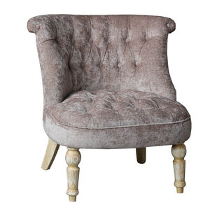 Josephine Taupe Accent Chair