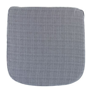 Woven Chambray Kitchen Seat Pad