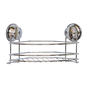 Chrome Corner Bathroom Caddy