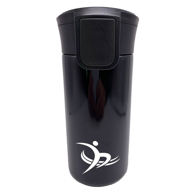 BodyGo Black Vacuum Travel Mug 350ml