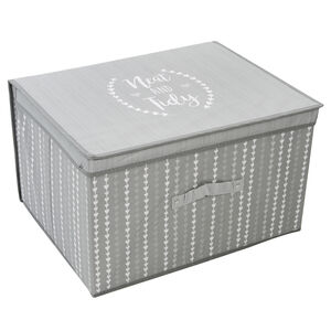 NEAT&TIDY GREY FOLDABLE Storage Chest