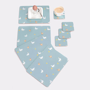 Country Farm Mats & Coasters 4 Pack