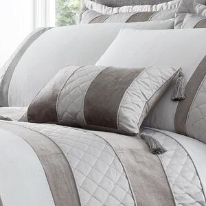 Classic Velvet Cushion 30x50cm - Silver