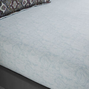 SINEAD GREY Double Fitted Sheet