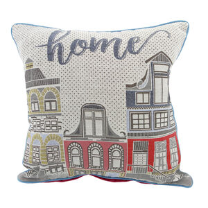 Townhouse Cushion Cover 2 Pack 45x45cm