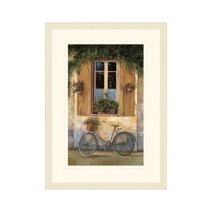 Grey Bicycle 35cm x 50cm