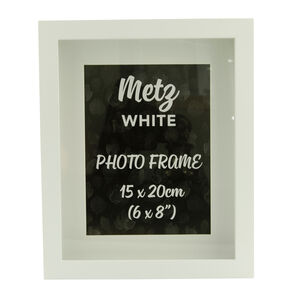 Metz White Photo Frame 6x8""