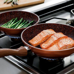JML Copper Stone Frying Pan - 24cm