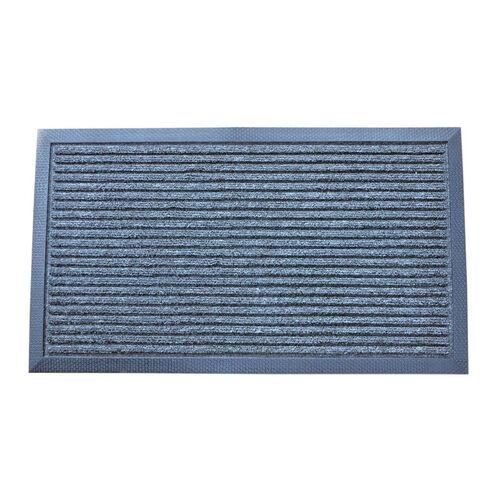 Esteem Stripe Doormat 40x70cm - Charcoal