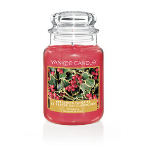 Yankee Candle Hollyberry Large Jar