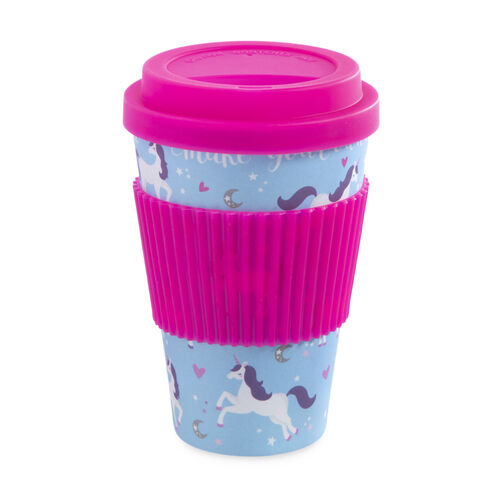 Magic Unicorn Bamboo Sippy Mug