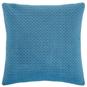Velour Stitch Teal 58x58 Cushion