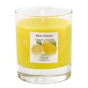 Lemon Verbena Glass Jar Candle