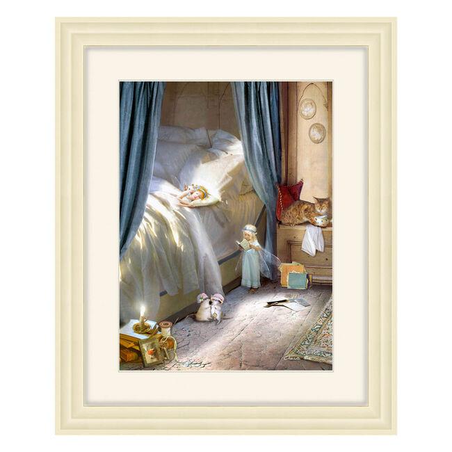 Bedtime Story Framed 56 x 46cm