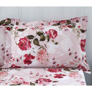 Babs Oxford Pillowcase Pair - Pink
