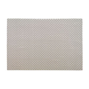 Tabby Weave Silver Placemat