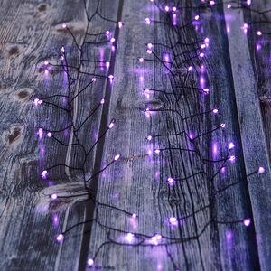 Halloween 60 LED Purple Garland