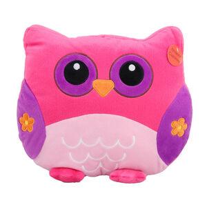 Owl Cushion Multi 35cm x 35cm