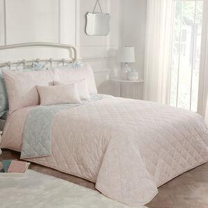 Indian Pinecone Blush Bedspread