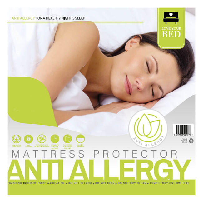 ANTI ALLERGY SINGLE Mattress Protector