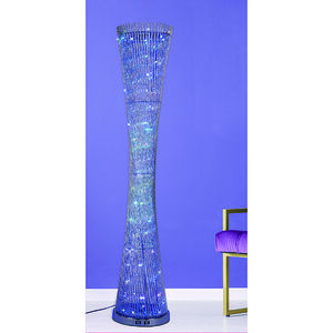 1.4 Silver Colour Changing Floor Lamp