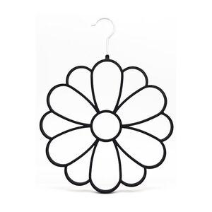 Velvet Black Flower Shape Scarf Hanger