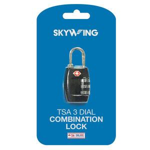 TSA 3 Dial Comination Lock