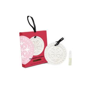 Rose Gardenia & Bergamot Fragrant Ceramic Disc