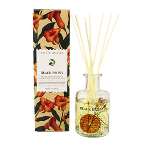 Natural Craft Black Peony Reed Diffuser