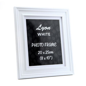 Lyon White Photo Frame 8x10""