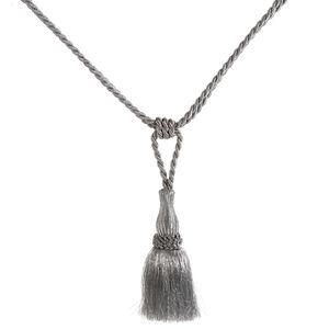 Elegance Small Rope Silver Tieback